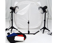 Portable Studio Lighting with Tent Kit